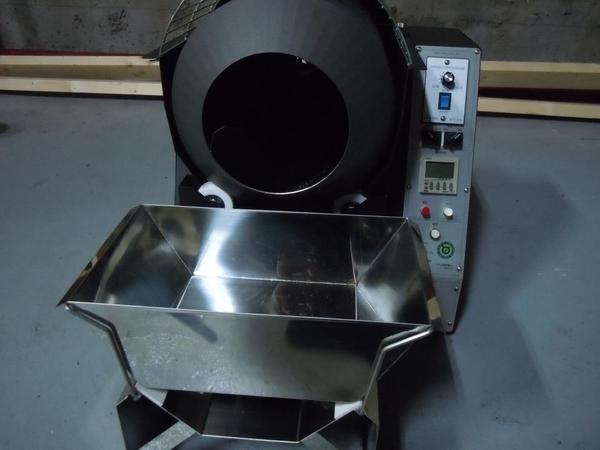 「ほうじ茶」用の焙煎機