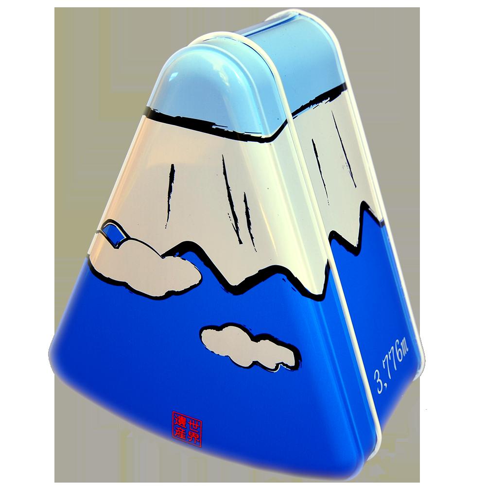 ぐり茶の富士山缶